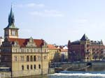 The Smetana Embankment from Charles Bridge