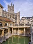 Bath Abbey and the Roman Baths