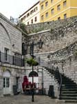 Casemates Square Entrance to Landport (Upper Walkway)