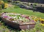 The Boat Flower Bed