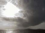 Shower over Sampson Scilly