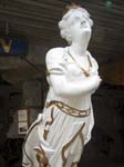 Figurehead of the Serica Wrecked 1893