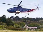 A Helicopter Tresco Heliport