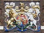 The Royal Arms on the Front of the Gatehouse