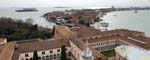 The Cloisters and Giudecca from the Campanile