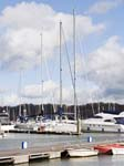 Yachts on the  Hamble