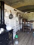 Interior of the Shepherd's Hut