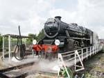Black Five 44932 on the Turntable