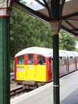 An Island Line Tube Train Shanklin Station