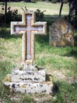 An Unusual Tiled Cross