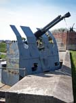 A Twin Bofors Anti-aircraft Gun