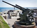 "A 3.7"" Anti-aircraft Gun"