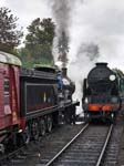 LSWR 30120 and SR 850 Steam Engines