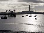 Fawley Power Station from Warsash