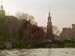 Munttoren from the Canal Tour Boat