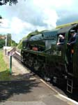 West Country Class Locomotive 34028 Eddystone