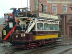 The Bus and Newcastle No 114 Tram