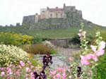 Lindisfarne Castle from the Garden
