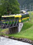 BDeh4/8 II Panoramic No 141 leaving Grund
