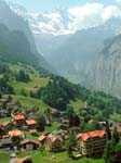 Coming down into Wengen