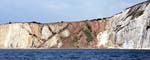 The Multicoloured Cliffs from the Sea