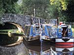 Hotel Boats Rose of Brecon and Abergavenny Castle