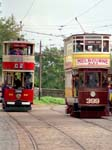 Johannesburg 60 and Leeds City Tramways 399