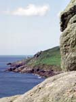 Tatter-Du Lighthouse from Lamorna Cove