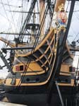 HMS Victory in happier days