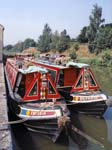 Two Narrow Boats Devizes Wharf