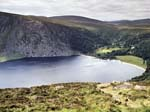 Lough Tay and Luggala Lodge