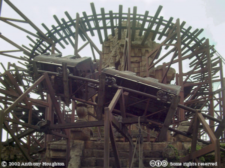 Indiana Jones,Disneyland Paris,Rollercoaster