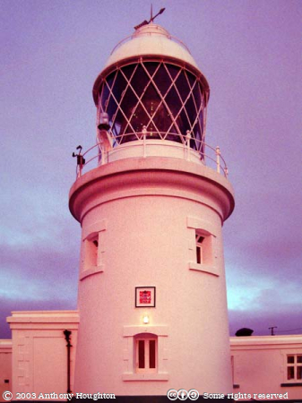 Pendeen Lighthouse,Sunset