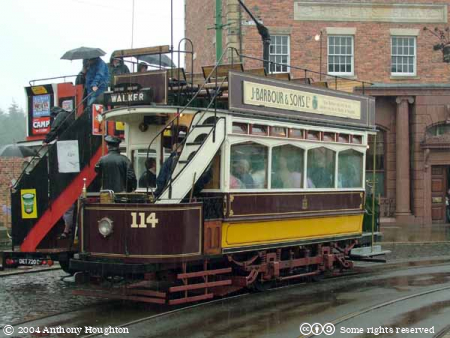 Beamish Museum,Bus,Tram,Vehicle