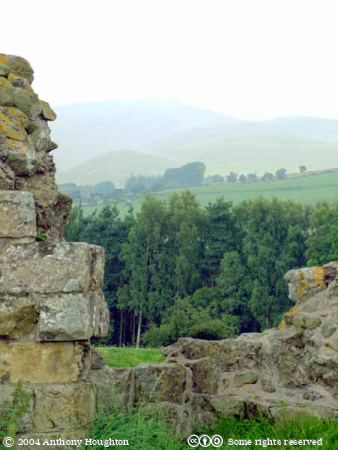 Cheviots,Harbottle Castle