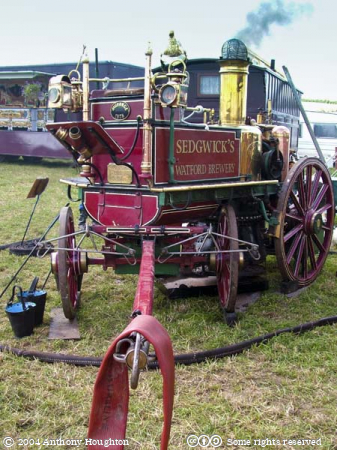 Steam Fair,Vehicle,Fire Engine,Shand Mason,Horse Drawn,Horse-drawn,2017 George