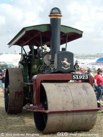 Steam Fair,Vehicle,Aveling and Porter,Road Roller,8717 Jupiter