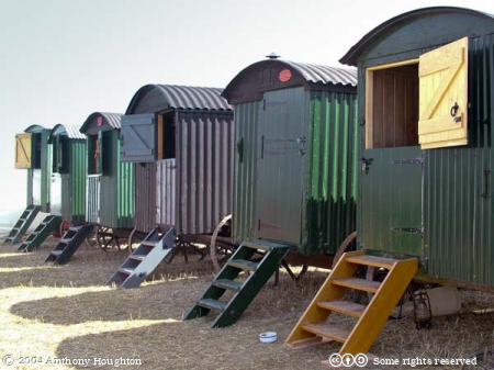 Steam Fair,Shepherd,Shepherds Huts