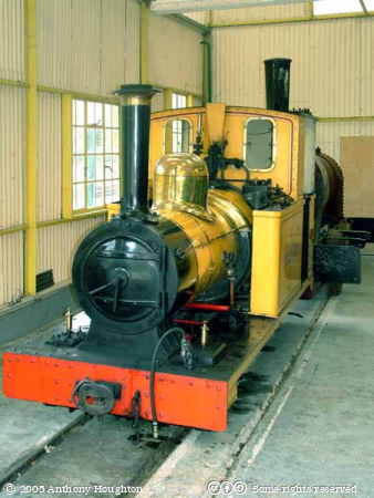 Amberley Working Museum,Groudle Glen,Steam Engine,Polar Bear,Bagnal 1781