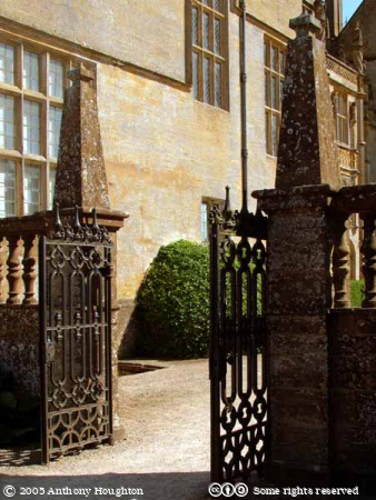 Montacute House,Stately Home,Gate