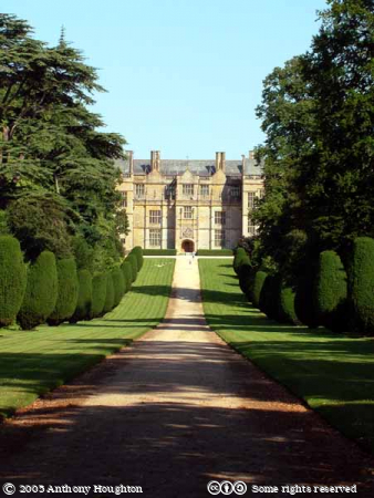 Montacute House,Stately Home,Drive