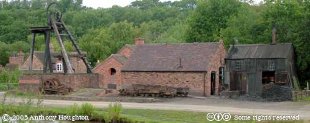 Telford,Ironbridge Gorge,Blists Hill Victorian Village,Museum,Coal,Iron Ore,Clay,Mine