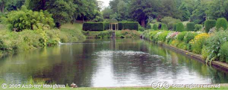 Forde Abbey,Garden,Long Pond