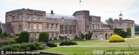 Forde Abbey,Stately Home,House,Garden,Long Pond