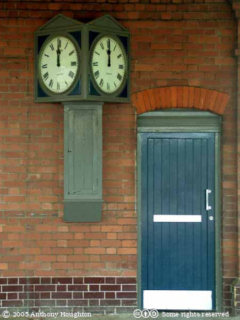 Yeovil Junction Station,Railway,Clock