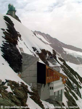 Jungfraujoch,Buildings