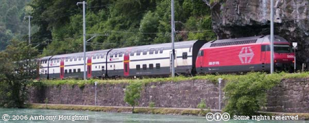 Swiss Railway,Bhan,Train,Re 460,Interlaken Ost,Interregio