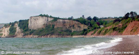Seaton,Beach,Cliffs