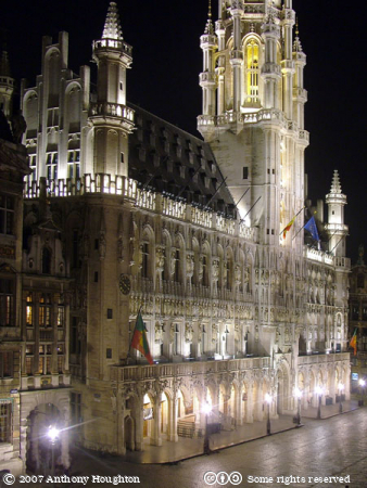 Brussels,Bruxelles,Grand,Place,Grote Markt,Town Hall