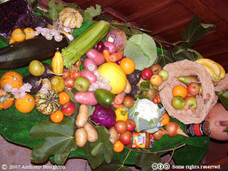 Studland Church,Harvest Display,Purbeck